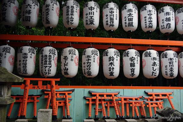Fushimi Inari Shrine in Kyoto