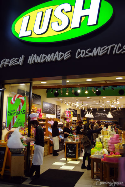 Lush - fresh handmade cosmetics in osaka