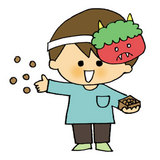 Setsubun Bean Throwing Day in Japan