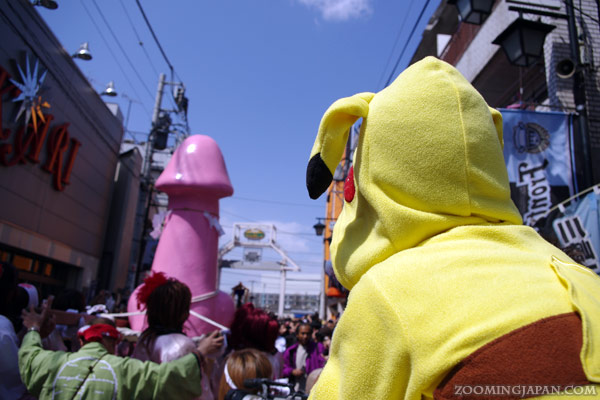 Spring in Japan: Kanamara Matsuri, Penis Festival in Kawasaki