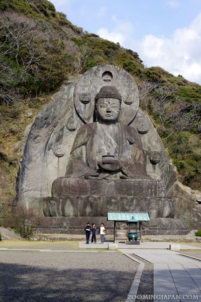 Great Buddha, Tallest Buddha Statue of Japan, Nokogiriyama, Chiba