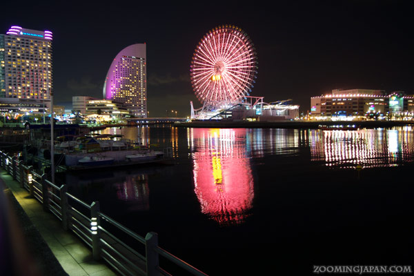 Yokohama, Sakuragicho at night