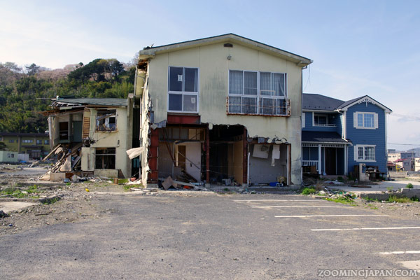 Spring in Japan: Ishinomaki in Miyagi was hit hard by the tsunami