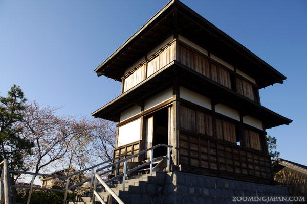 Spring in Japan: Tanaka Castle, Fujieda, Shizuoka