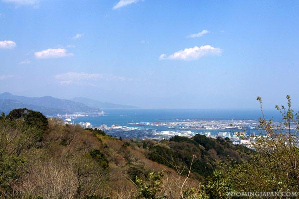 View from Nihondaira, Shizuoka
