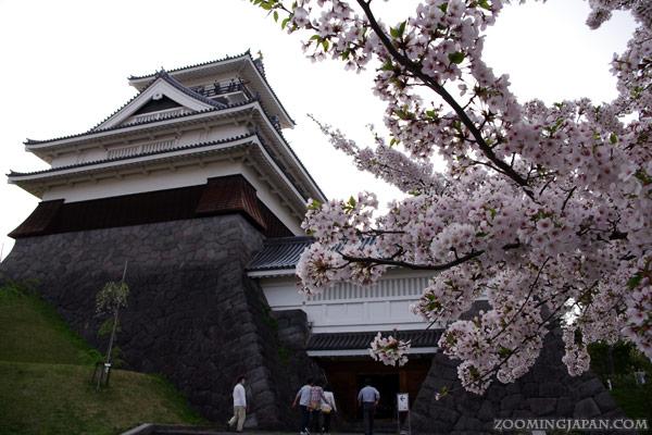 Spring in Japan: Kaminoyama Castle in Yamagata