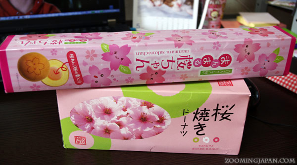 cherry blossom flavored sweets