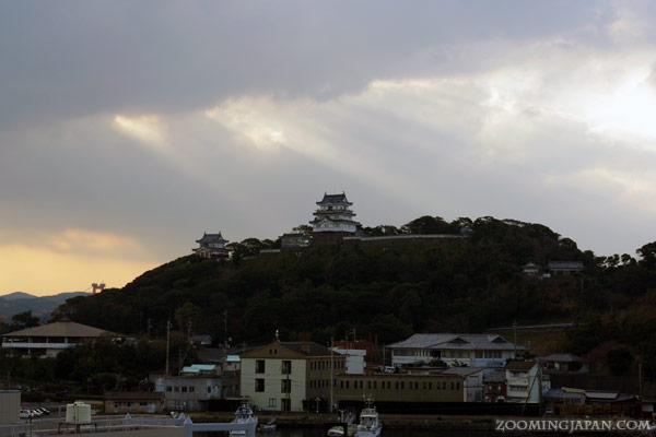 Hirado Castle in Nagasaki Prefecture