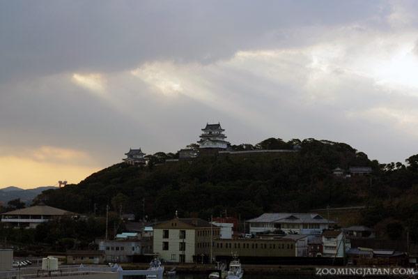 Hirado Castle in Nagasaki Prefecture