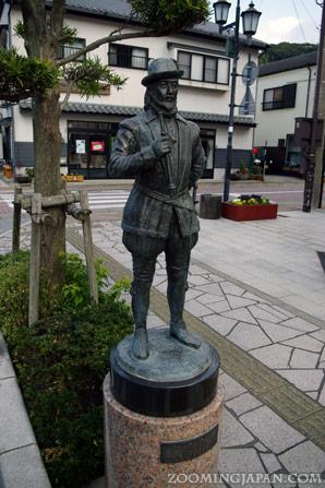 Anjin Miura statue in Hirado