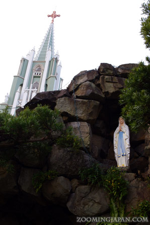 Catholic church in Hirado, Nagasaki