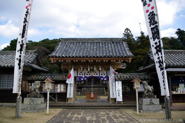 Shrine near Hirado Castle