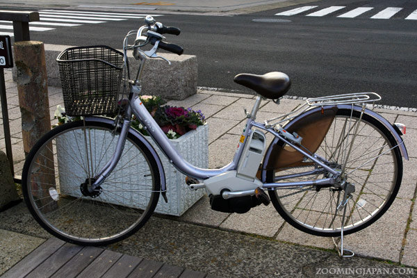 rental bike in Hirado