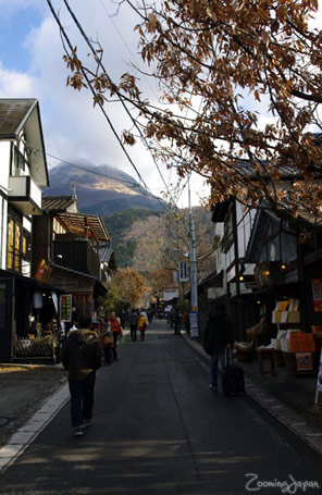 Kyushu winter vacation: Yufuin in Oita Prefecture