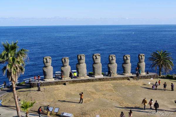 Kyushu winter vacation: Moai in Miyazaki