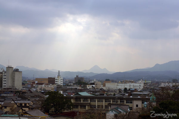 Nakatsu Japan  city photo : As you can see the weather couldn't make up its mind. Blue sky on ...
