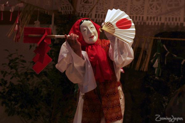 Takachiho in Miyazaki, Kagura Dance at Takachiho Shrine