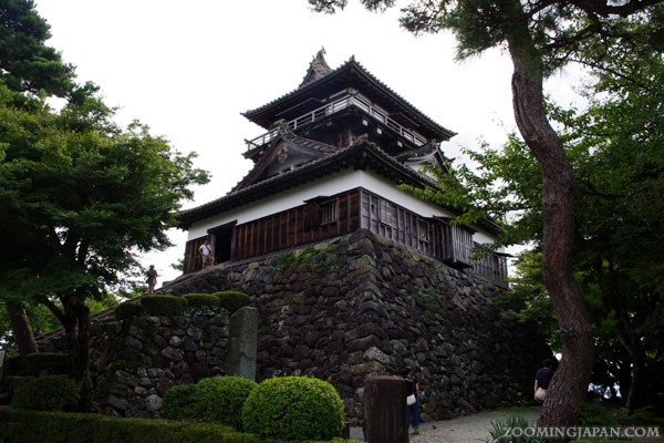 Maruoka Castle Original Castle Keep