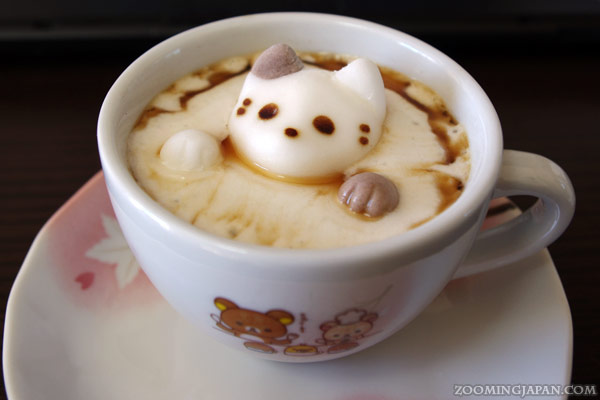 Cafe Cat Paw Marshmallow