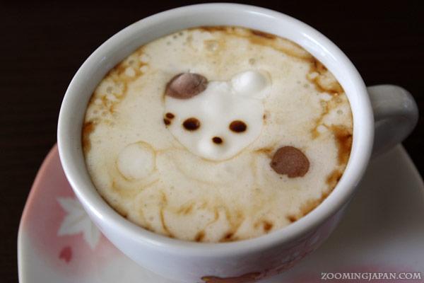 Japanese Latte Art - Cat Marshmallow
