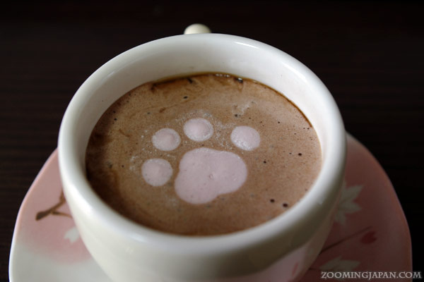 Japanese Latte Art - Cat Marshmallow