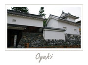 Ogaki Castle in Gifu, 大垣城