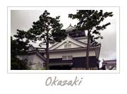Okazaki Castle in Aichi, 岡崎城