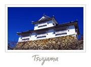 Tsuyama Castle in Okayama, 津山城