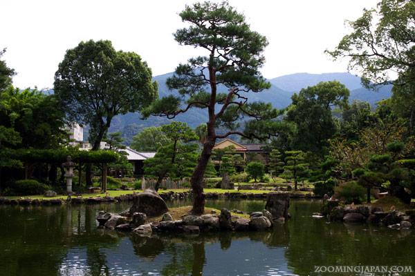 Uwajima City in Ehime Prefecture