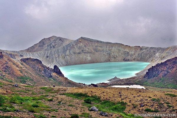 Crater Lake Yugama, Mt. Shirane, Kusatsu, Gunma Prefecture