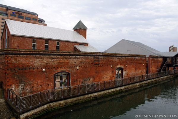 Hakodate City red brick warehouses