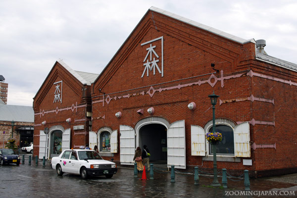 Hakodate City red brick warehouses