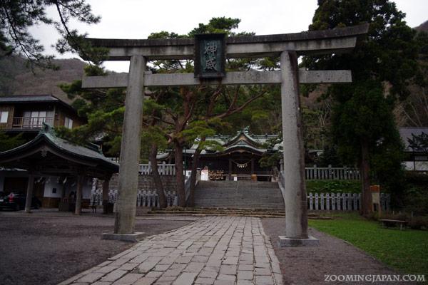 Hakodate City Hachimangu Shrine