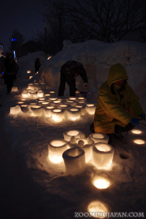 Otaru Snow Light Path Festival