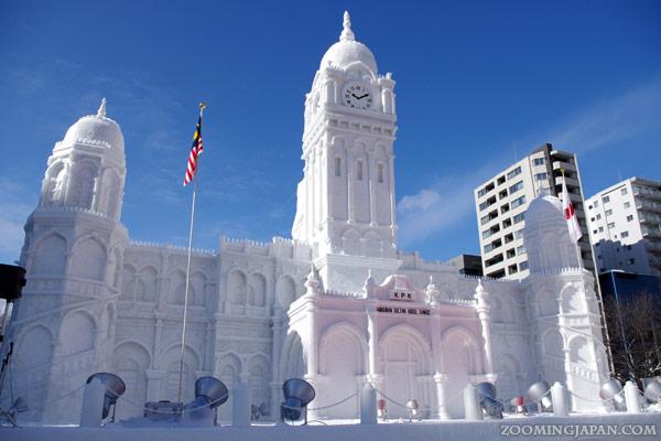 Yuki Matsuri Sapporo Snow Festival