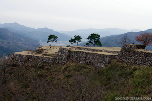 Takeda Castle in Asago, Hyogo Prefecture