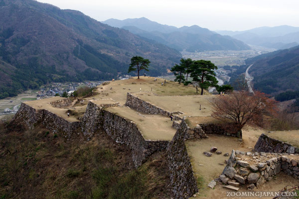 Takeda Castle in Asago, Hyogo Prefecture