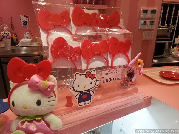 Hello Kitty Cafe in Himeji - Cafe de Miki