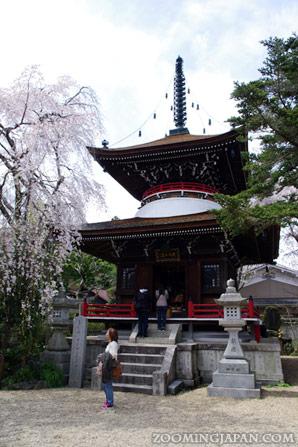 Mount Yoshino in Nara
