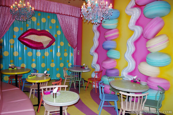 Kawaii Monster Cafe in Harajuku