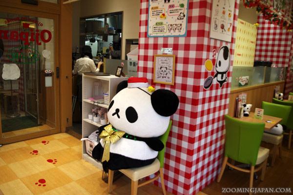 Ojipan Cafe in Harajuku