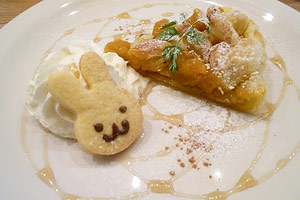 rabbit cafe in tokyo