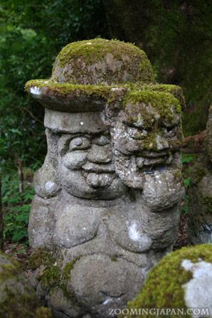 Otagi Nenbutsuji Temple in Kyoto