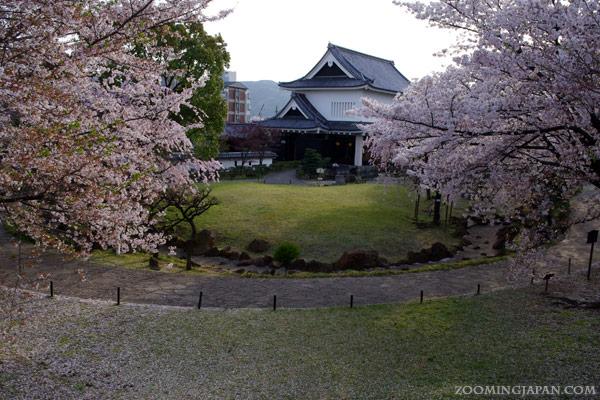 Shoryuji Castle in Kyoto