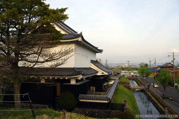 Shoryuji Castle in Kyoto