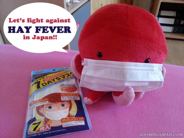 Hay fever in Japan