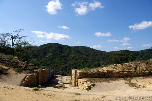 Kinojo Castle in Soja Okayama Prefecture