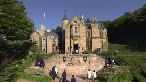 Japanese Filming Locations of dramas and movies. Yukan Club Castle.