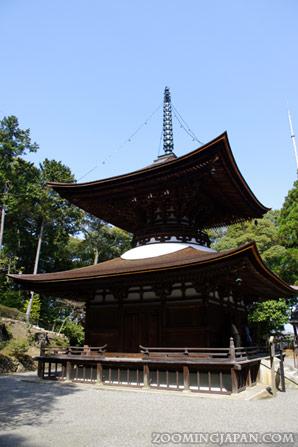 Ishiyamadera Temple in Otsu