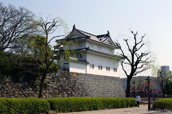 Sunpu Castle in Shizuoka